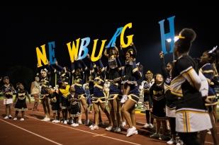 Newburgh High School. Homecoming game. Newburgh, NY.