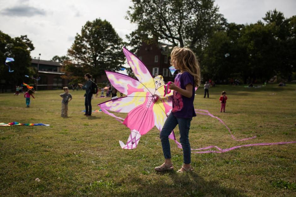 Kite day in Newburgh, NY