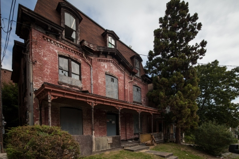An old derelict house in Newburgh, NY.
