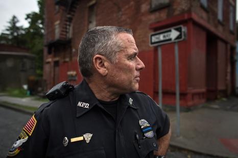 Senior Patrol Officer John Gleeson. Newburgh, NY.